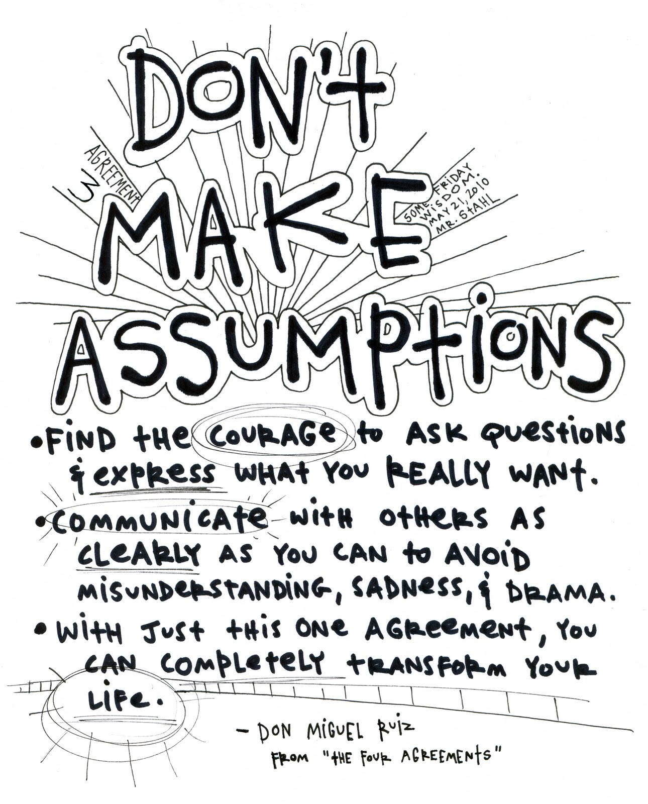 The Four Agreements Journey To My Heart
