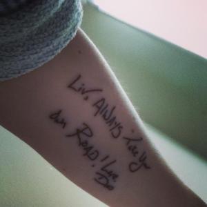 liv tattoo