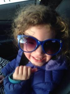 johanna in glasses