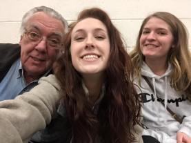 Olivia and Papa Selfie